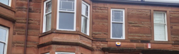 Vertical sliding sash windows in Glasgow West and South
